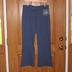 Juicy Couture 100% cotton sweatpants med blue